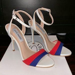 Brand New White Steve Madden Heels